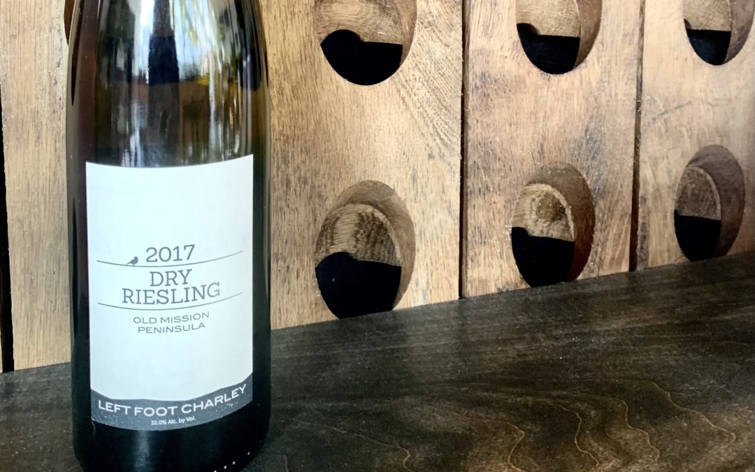 Left Foot Charley 2017 Dry Riesling
